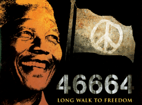 Nelson Mandela the African King of Peace