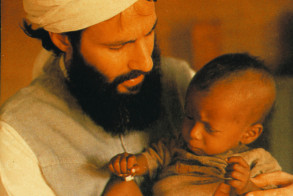 Yusuf and baby in Sudan