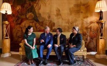 Yusuf Islam Foundation Meets Prince Charles