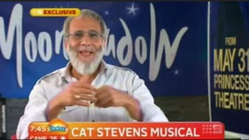 Yusuf on Australian TV