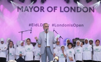 """God Bless London!"" Eid in the Square Festival"